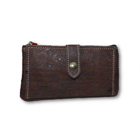 Handliches Kork Portemonnaie - Geldbeutel
