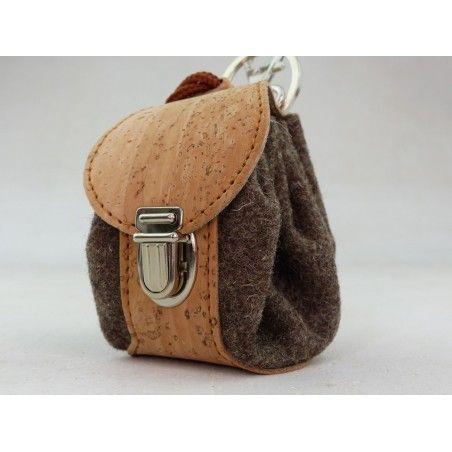 Mini Rucksack Kork& Burel - Schlüsselanhänger