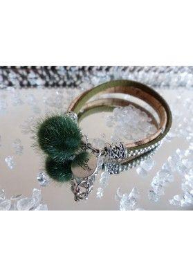 Bommel Armband - Schmuck