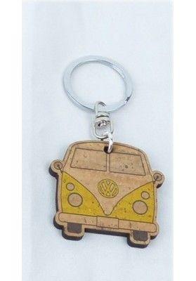 VW Bulli Nostalgie - Schlüsselanhänger