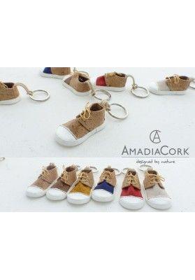 Schlüsselanhänger Mini Kork Sneaker - Accessoires