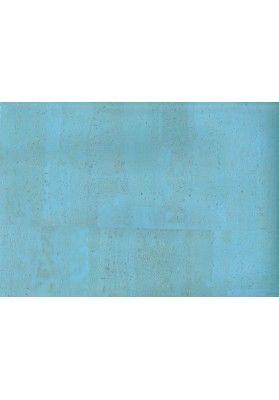 Diverse Blau Töne - Korkstoffe