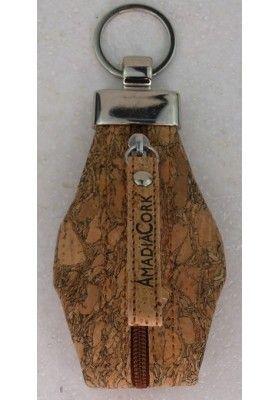 Schlüsselanhänger aus Kork - Schlüsselanhänger
