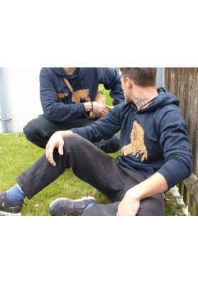 Hoodie - Korkapplikation Eisbär - Bekleidung