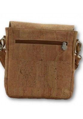 Kompakte Überwurftasche (Lasercut Cube) - Korktaschen