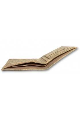 Karten Etui mit Geldscheinfach in Korkmarmor - Unisex