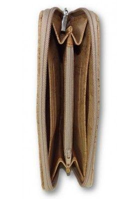 Smartphone Tasche aus Kork Naturmaserungen