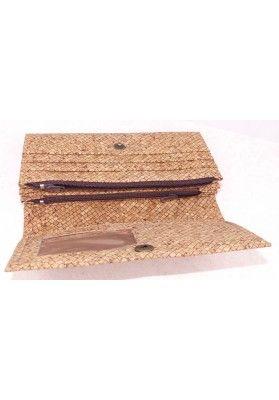 Kork Geldbörse mit Druckknopf - Geldbeutel