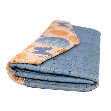 Kuvert Brieftasche in Kork - Geldbeutel