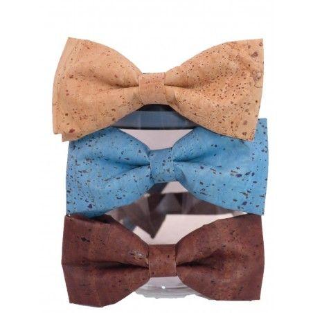 Korkfliege - Krawatte & Fliege