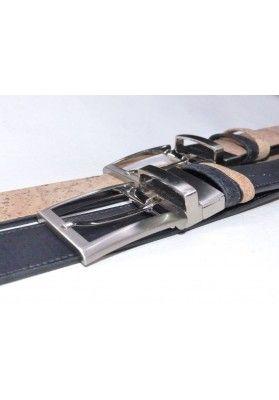 Wende Korkgürtel 4 cm Breit Schwarze - Herrenaccessoires